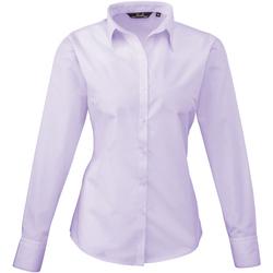 Abbigliamento Donna Camicie Premier PR300 Lilla