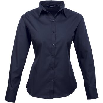 Abbigliamento Donna Camicie Premier PR300 Blu navy