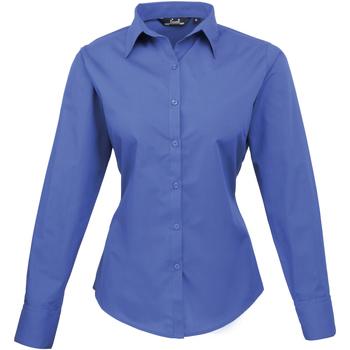 Abbigliamento Donna Camicie Premier PR300 Blu reale