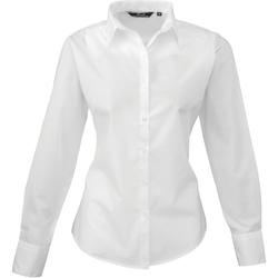 Abbigliamento Donna Camicie Premier PR300 Bianco