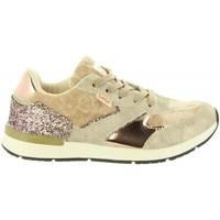 Scarpe Bambina Sneakers basse Lois Jeans 83899 Beige