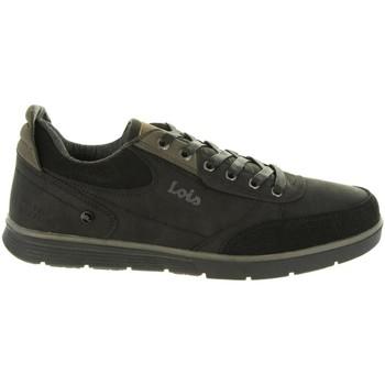 Scarpe Uomo Sneakers basse Lois 84720 Negro