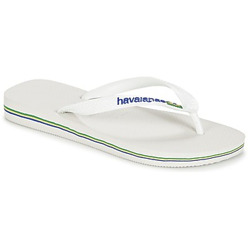 Scarpe Infradito Havaianas BRASIL LOGO Bianco