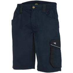 Abbigliamento Uomo Shorts / Bermuda Utility Diadora BERMUDA POLY ISO 13688:2013 60062 - BLU CLASSICO