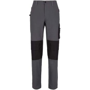 Abbigliamento Uomo Pantalone Cargo Utility Diadora PANT STRETCH ISO 13688:2013 75047 - GRIGIO PIOGGIA