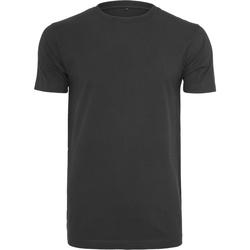 Abbigliamento Uomo T-shirt maniche corte Build Your Brand BY004 Nero
