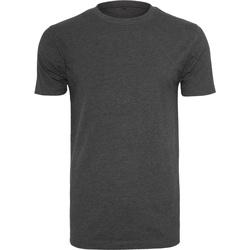 Abbigliamento Uomo T-shirt maniche corte Build Your Brand BY004 Carbone