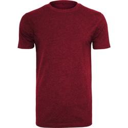 Abbigliamento Uomo T-shirt maniche corte Build Your Brand BY004 Bordeaux
