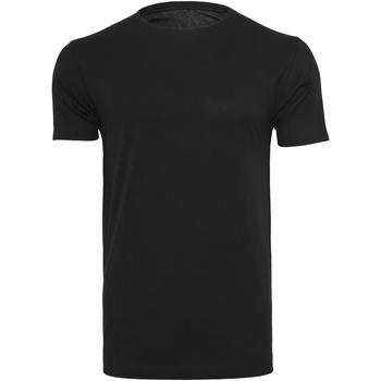 Abbigliamento Uomo T-shirt maniche corte Build Your Brand BY005 Nero