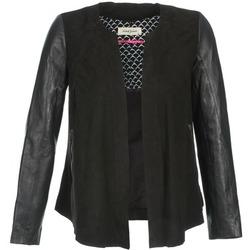 Abbigliamento Donna Giacca in cuoio / simil cuoio Naf Naf COCOTTE Nero