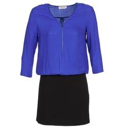 Abbigliamento Donna Abiti corti Naf Naf KIMON DR Blu / Nero