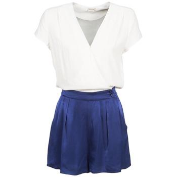Abbigliamento Donna Tuta jumpsuit / Salopette Naf Naf KLOVIS Bianco / Blu