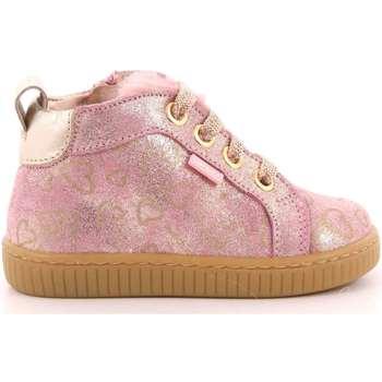Scarpe Bambina Sneakers alte Balducci 200 - MSP1816A Scarpa Allacciata Bambina Rosa Rosa
