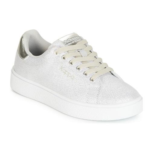 2100 Consegna Basse Kid Sneakers Scarpe Bambino San Remo Kappa BiancoArgento Gratuita pGUzqSMV