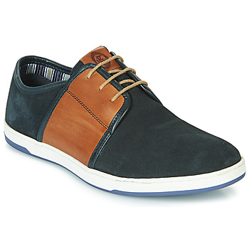 Scarpe Uomo Sneakers basse Base London JIVE Blu / Camel