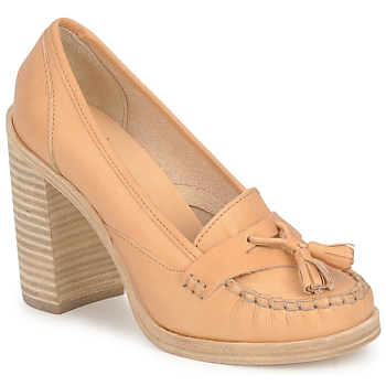 Scarpe Donna Décolleté Swedish hasbeens TASSEL LOAFER Beige