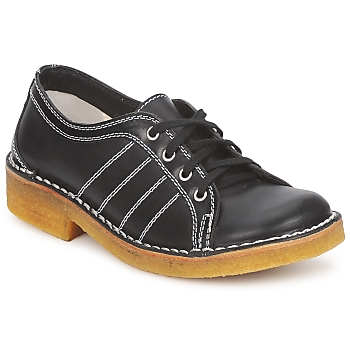 Scarpe Uomo Derby Swedish hasbeens BIG BABY Black