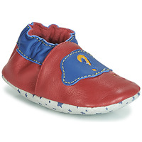 Scarpe Bambino Pantofole André LES BULLES Rosso