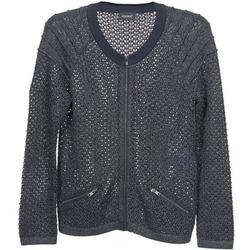 Abbigliamento Donna Gilet / Cardigan Kookaï TOULIA Marine