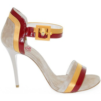 Scarpe Donna Sandali Fabi Sandalo con tacco marrone