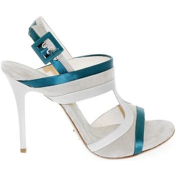 Scarpe Donna Sandali Fabi Sandalo con tacco bianco