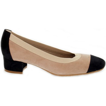 Scarpe Donna Décolleté Martina Decollete  7005 nero,marrone,multicolore