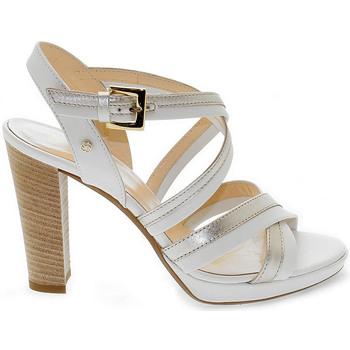 Scarpe Donna Sandali Samsonite Sandalo con tacco bianco
