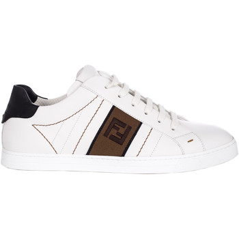 Scarpe Uomo Sneakers basse Vintage FENDI SNEAKERS UOMO 7E1166A3XLF13TH          BIANCO