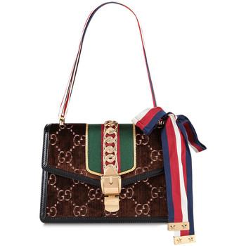 Borse Donna Borse a spalla Gucci GUCCI BORSA A SPALLA DONNA 5244059JTEG2068          MARRONE