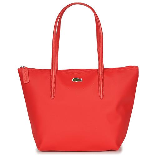 Borse Donna Tote bag / Borsa shopping Lacoste L 12 12 CONCEPT Rosso