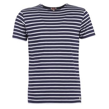 Abbigliamento Uomo T-shirt maniche corte Armor Lux TALOPO Marine / Bianco