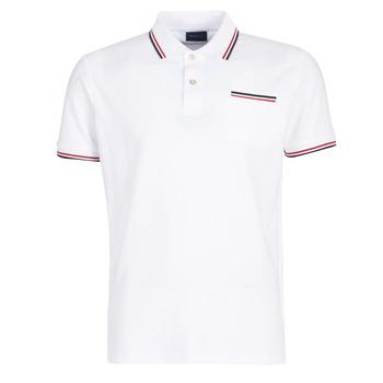 Abbigliamento Uomo Polo maniche corte Gant COL TIPPING PIQUE Bianco