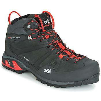 Scarpe Uomo Sneakers alte Millet SUPER TRIDENT GTX Nero / Rosso