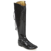 Scarpe Donna Stivali French Sole PRINCE Nero