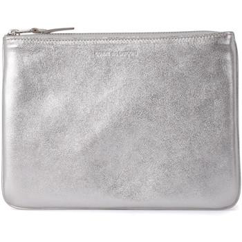 Borse Donna Pochette / Borselli Comme Des Garcons Pochette in pelle argento Argento
