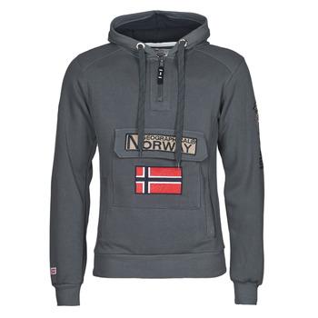 Abbigliamento Uomo Felpe Geographical Norway GYMCLASS Grigio