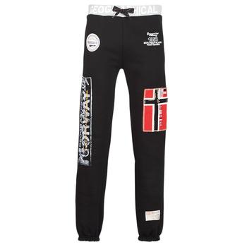 Abbigliamento Uomo Pantaloni da tuta Geographical Norway MYER Nero