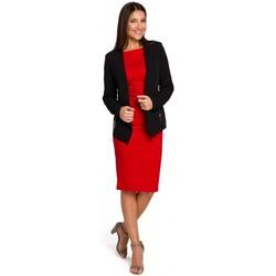 Abbigliamento Donna Tuta jumpsuit / Salopette Style S140 Blazer sartoriale con zip - nero