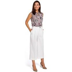 Abbigliamento Donna Vestiti Style S139 Cullotes - ecru