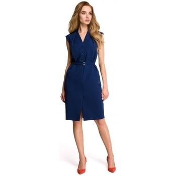 Abbigliamento Donna Vestiti Style S102 Vestito senza maniche - blu navy