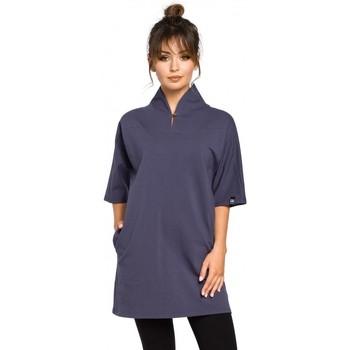 Abbigliamento Donna Top / Blusa Be B043 Tunica kimono - blu