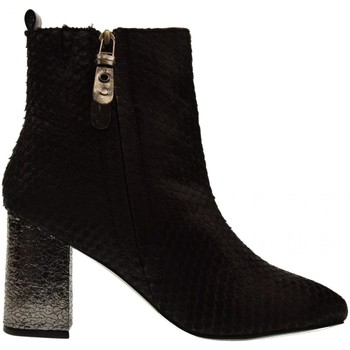 Scarpe Donna Stivaletti Gioseppo scarpe donna stivaletti 46237 tacco medio chiusura lampo Nero
