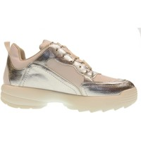 Scarpe Donna Sneakers basse Gold&gold scarpe donna sneakers basse con platform gt531 BIANCO/ARGENTO Bianco / argento