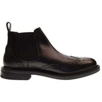 Scarpe Uomo Stivaletti Antica Cuoieria scarpe uomo stivaletti  inglesina senza lacci  20618-B-V68 Pelle