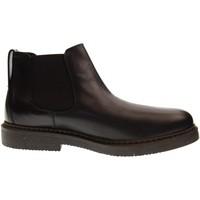 Scarpe Uomo Stivaletti Antica Cuoieria scarpe uomo stivaletti 20637-S-V65 OYSTER Nero
