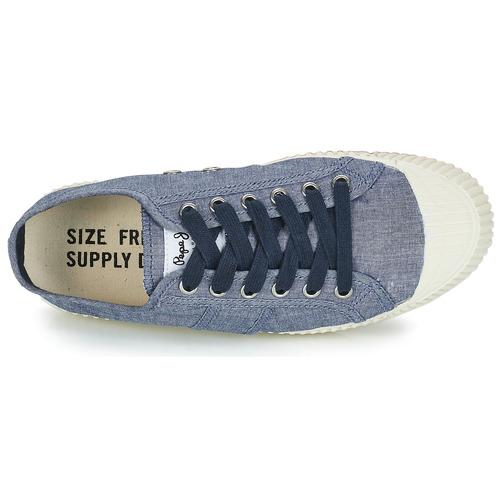 Jeans Donna Sneakers Basse Ing Low Blu Scarpe Consegna Pepe 3250 Gratuita xCordBeW
