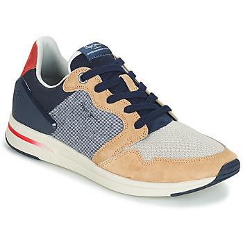 Scarpe Uomo Sneakers basse Pepe jeans JAYKER DUAL D LIMIT Blu / Beige