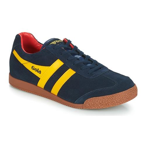 Scarpe Uomo Sneakers basse Gola HARRIER Blu / Giallo