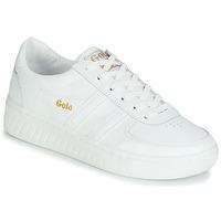 Scarpe Donna Sneakers basse Gola GRANDSLAM LEATHER Bianco