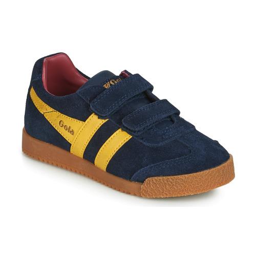 Scarpe Unisex bambino Sneakers basse Gola HARRIER VELCRO Blu